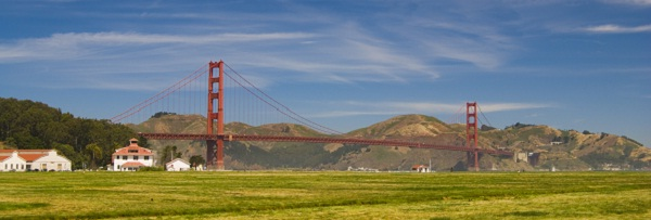 Die Golden Gate Brücke in San Fracisco
