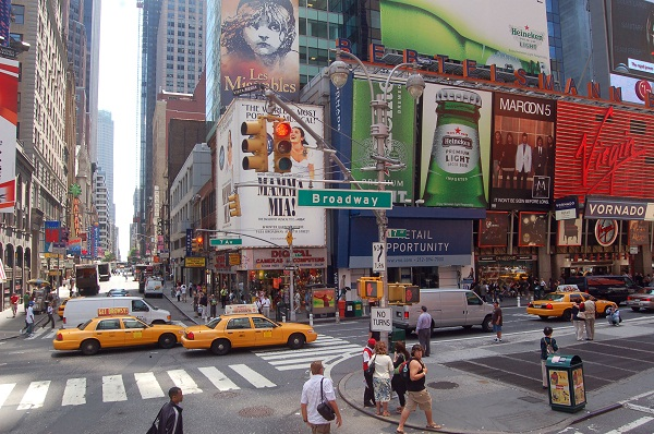 New York Broadway Klima New York