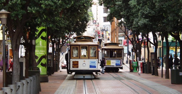 San Francisco Cable Car Sehenswürdigkeiten San Francisco