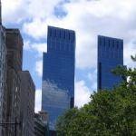 das Time-Warner Center in New York Downtown