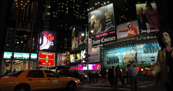 Times Square Theater New York