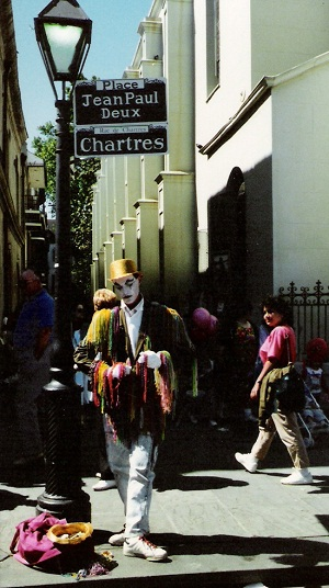 Das French Quarter in New Orleans