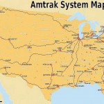 amtrak Schienennetz USA 150x150 Urlaub in USA von Ost nach West