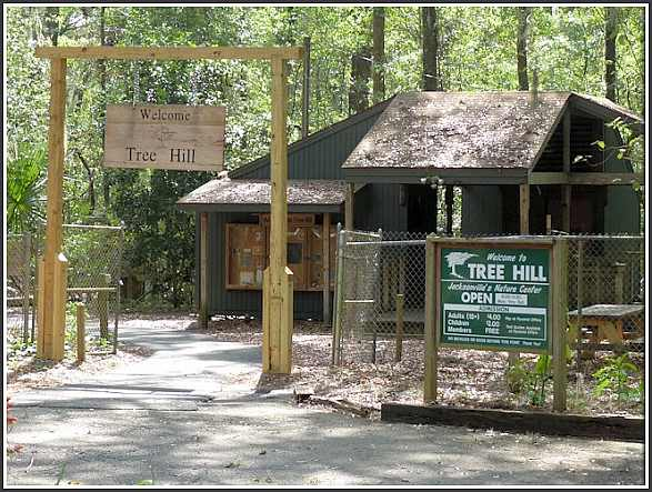 Tree Hill Nature Center Entrance